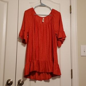 PerSeption womens coral top